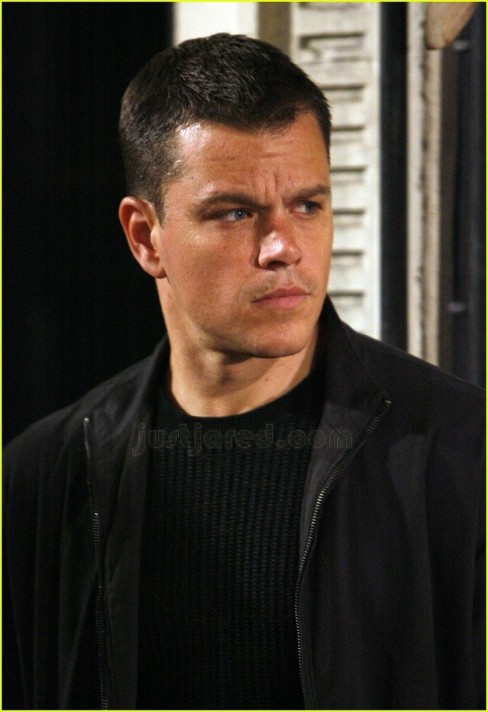 Matt Damon Picking Nose