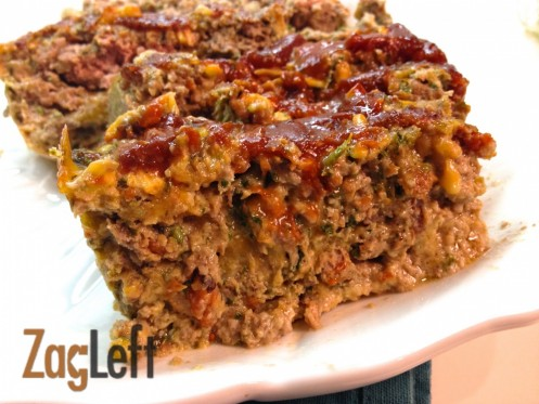 Bacon Cheeseburger Meatloaf From Zagleft