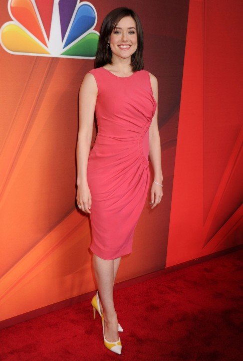 Megan Boone Nbc Upfront Presentation At The Jacob Javits Convention Center In New York City