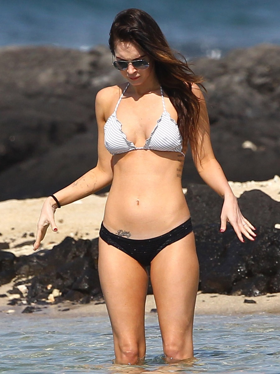 Megan Fox Bikini Candids In Hawaii Adds Bikini
