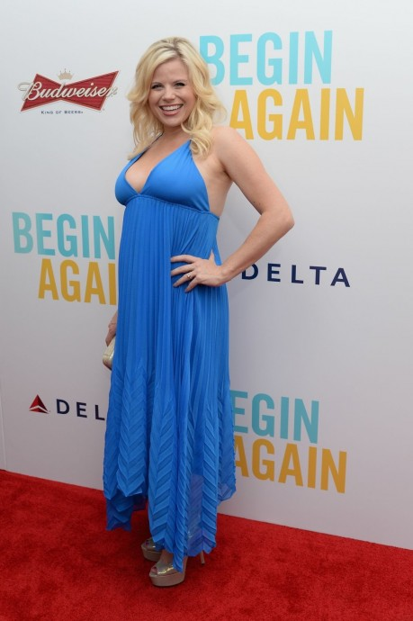 Megan Hilty At Begin Again Premiere In New York Weight