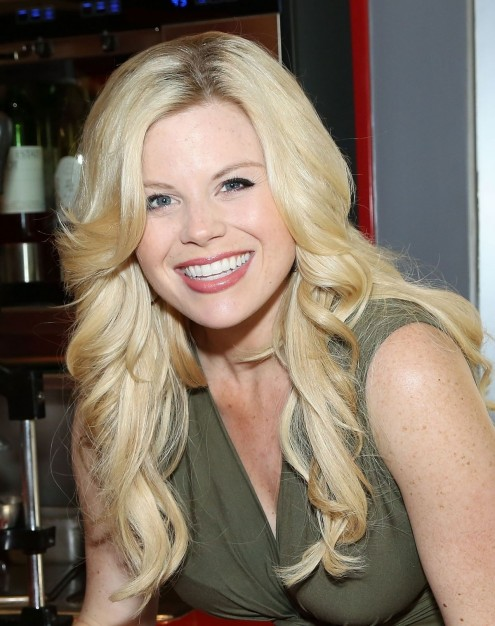 Megan Hilty At Steak Shake Th Britfhay Party In New York