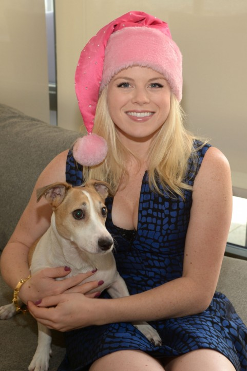 Megan Hilty Ready For Christmas