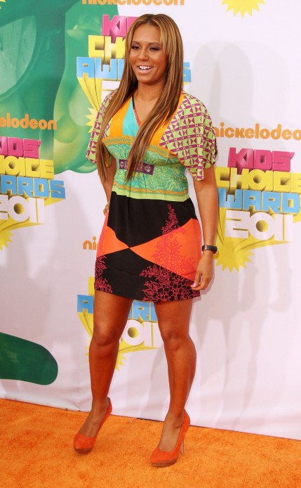 Mel Her Girls Bring Some Spice To The Kids Choice Awards Kids