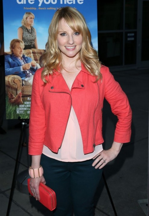 Melissa Rauch At Are You Here Premiere In Hollywood