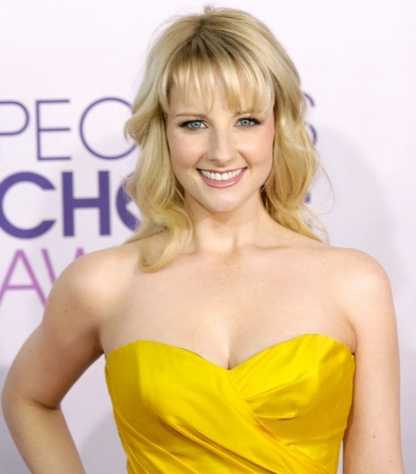 Melissa Rauch People Choice Awards Red Dress