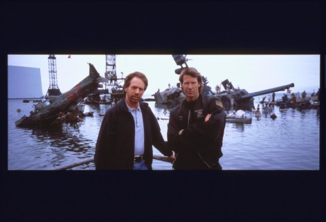 Still Of Michael Bay And Jerry Bruckheimer In Pearl Harbor Large Picture