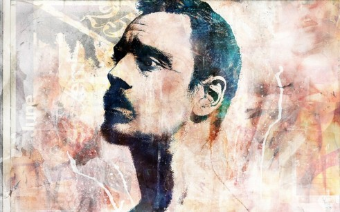 Grunge Vhm Alex Artwork Michael Fassbender Alex Cherry Portraits Wallpaper