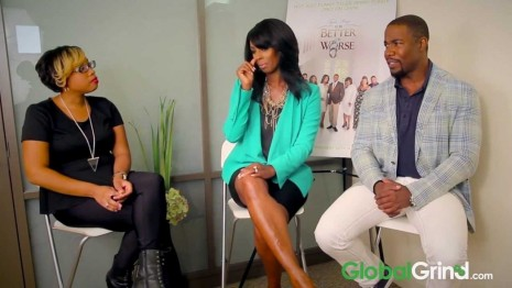 Tasha Smith Michael Jai White Talk Dysfunctional Black Love