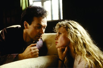 Still Of Kim Basinger And Michael Keaton In Batman Large Picture