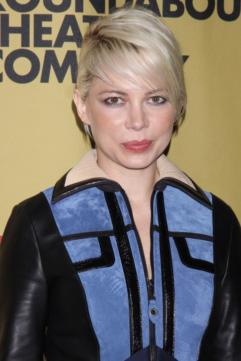Michelle Williams At Cabaret Opening Night In New York Beach