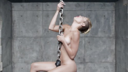 Miley Cyrus Wrecking Ball Music Video Wrecking Ball