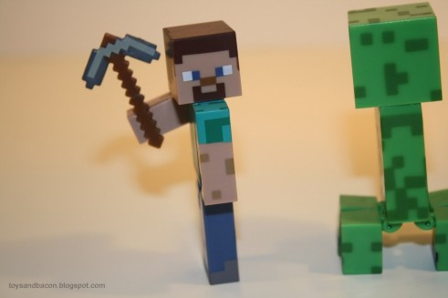 Minecraft Bactionfigures Characters