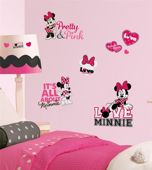 Minnie Mouse Bedroom Wallpaper