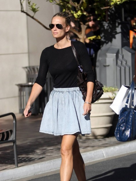 Molly Sims The Grove Los Angel Style