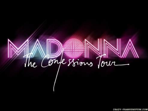 Madonna Confessions On Dance Floor Logo Music Wallpapers Wallpaper