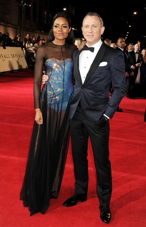 Daniel Craig And Naomie Harris At Event Of Skyfall Large Picture Skyfall