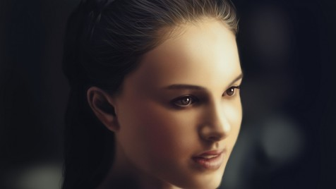 Beautiful Hollywood Celebrity Natalie Portman Desktop Wallpapers