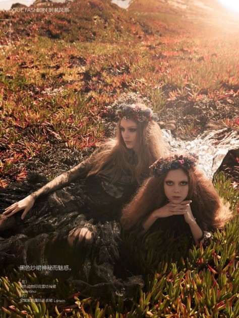 Kati Nescher Natalie Westling For Vogue July Marc Jacobs