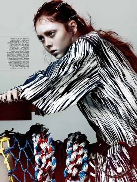 Natalie Westling By Gregory Harris For Interview Magazine March