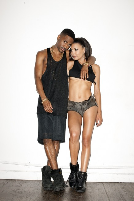 Naya Rivera And Big Sean By Terry Richardson