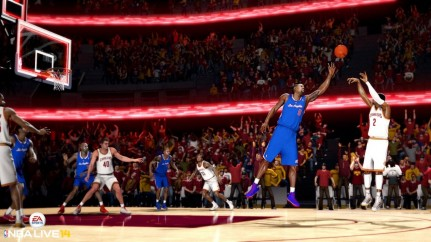 Ea Sports Nba Live Can Compete With Nba