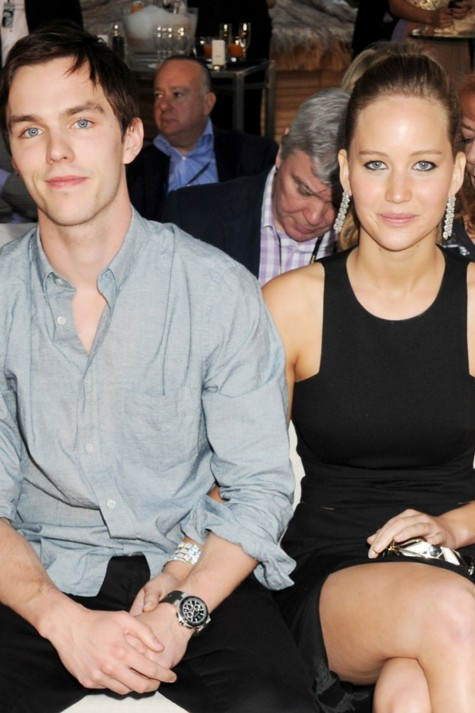 Jennifer Lawrence And Nicholas Hoult And Jennifer Lawrence