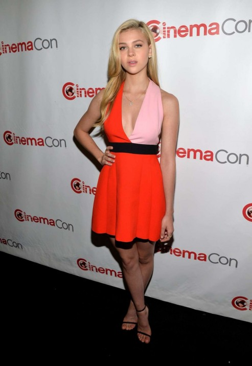 Nicola Peltz Cinemacon Paramount Presentation