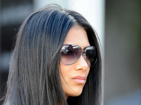 Nicole Scherzinger On Australian Gp Hair