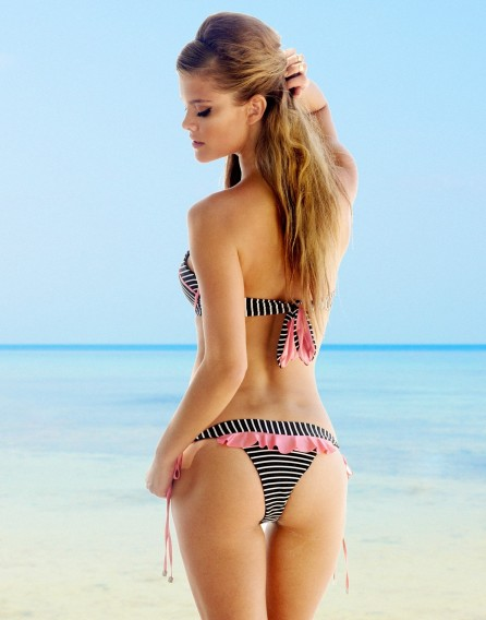 Nina Agdal Beach Bunny Swimwear Lady Lace