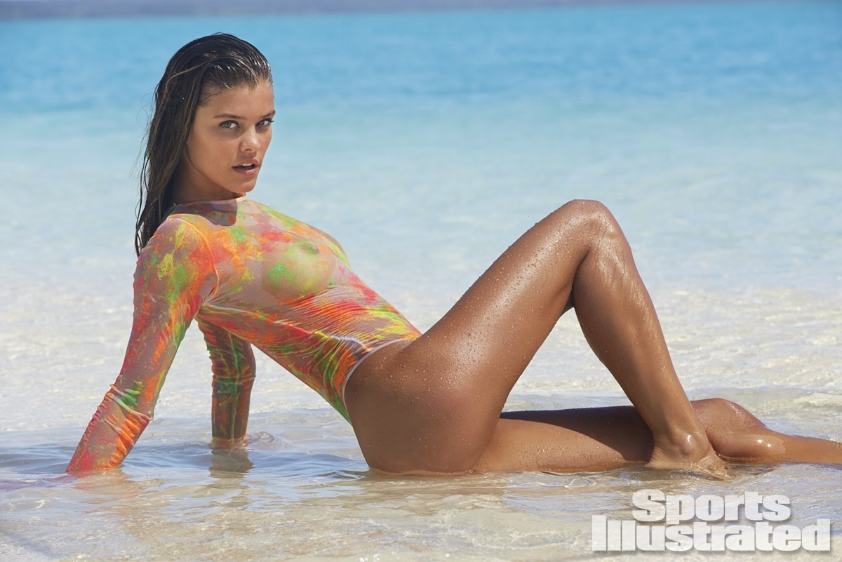 Nina Agdal Sports Illustrated Swimsuit Prom