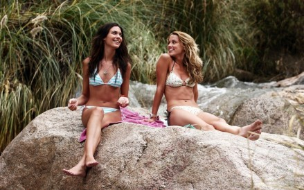 Odette Annable And Amber Heard