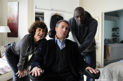 Still Of Fran Ois Cluzet Anne Le Ny And Omar Sy In Invincibilii Large Picture