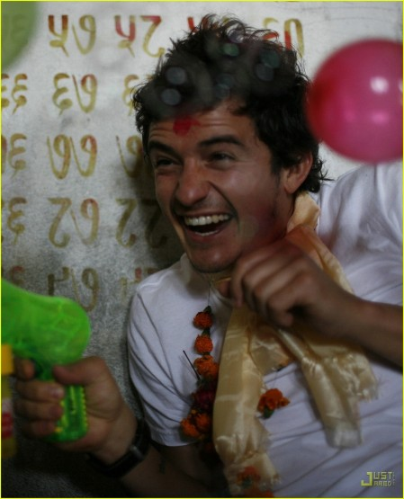 Orlando Bloom Nepal Young