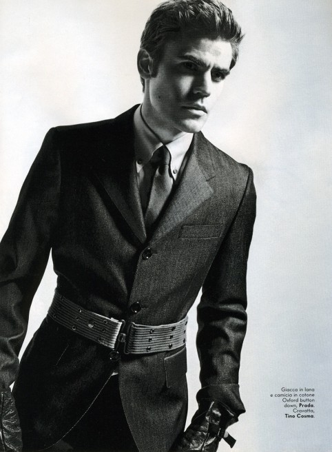 Paul In Vanity Fair Italia October Paul Wesley