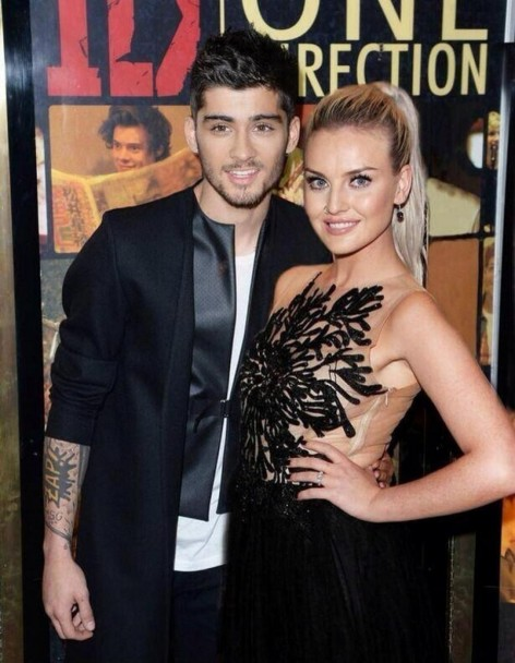 Zayn Malik Perrie Edwards And Zayn Malik