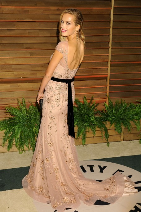 Petra Nemcova Oscar Vanity Fair Party Beach