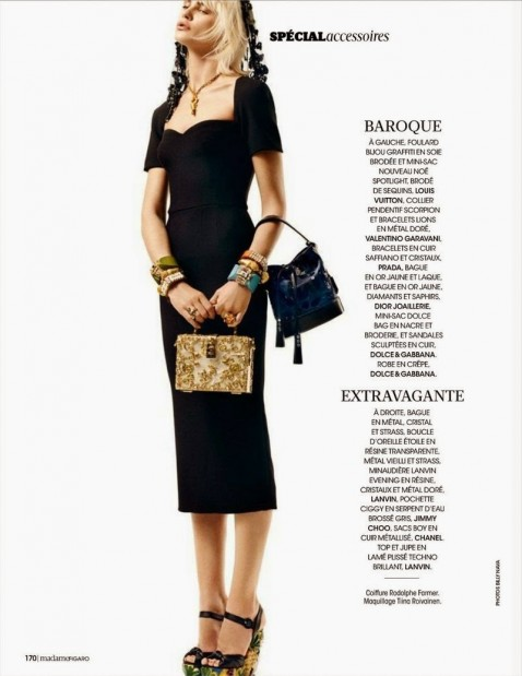 Quinta Witzel For Madame Figaro Magazine France March