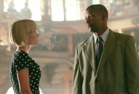 Still Of Denzel Washington And Radha Mitchell In Man On Fire Large Picture Man On Fire