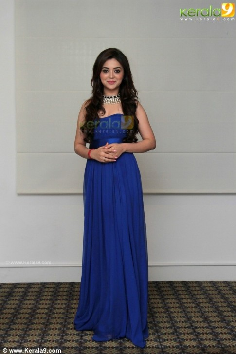 Ragini Nandwani At Peruchazhi Movie First Look Launch Pictures