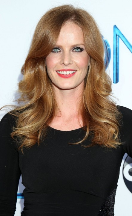 Rebecca Mader At Once Upon Time Season Red Carpet Premiere Tv