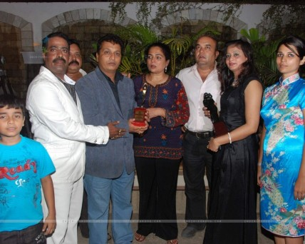 Tv Actress Reema Lagoo Celebs At The Success Bash Of Marathi Fil Movies