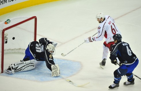 Rick Nash Scores During Nhl All Star Game