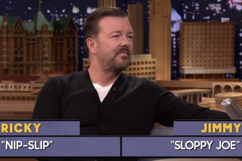 Word Sneak With Jimmy Fallon And Ricky Gervais