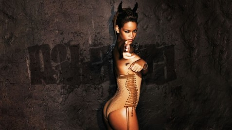 Rihanna Is Hot Widescreen Hot