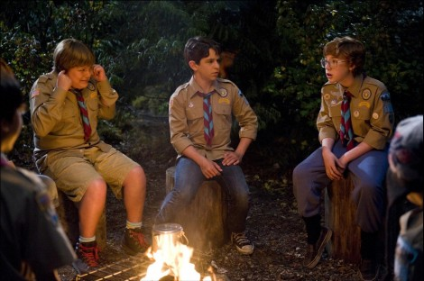Picture Of Grayson Russell Zachary Gordon And Robert Capron In Diary Of Wimpy Kid Dog Days Large Picture Zachary Gordon And Peyton List