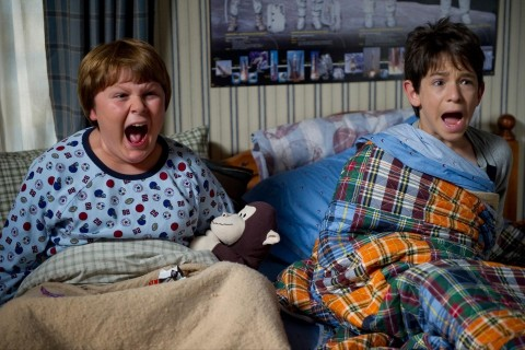 Still Of Zachary Gordon And Robert Capron In Diary Of Wimpy Kid Rodrick Rules Zachary Gordon And Peyton List