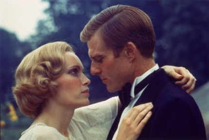 Picture Of Robert Redford And Mia Farrow In The Great Gatsby Large Picture Fashion