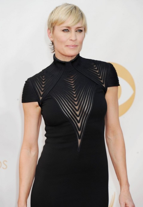 Robin Wright At Th Annual Primetime Emmy Awards In Los Angeles