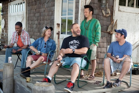 Still Of Adam Sandler Chris Rock Rob Schneider David Spade And Kevin James In Grown Ups Large Picture Grown Ups